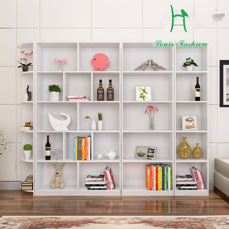 Simple shelf with posthumous ark contemporary and contracted children receive ark corner bookcase Полка