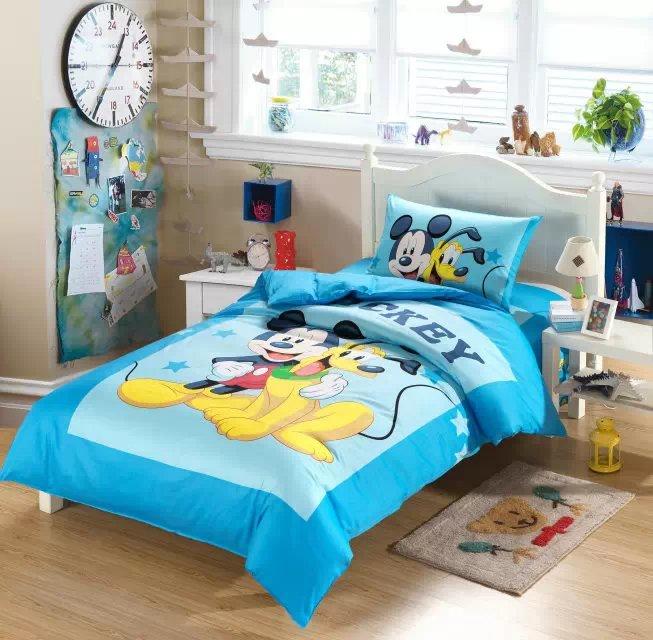 goofy mickey mouse juego de cama edredn individual cama doble funda nrdica ropa de cama de