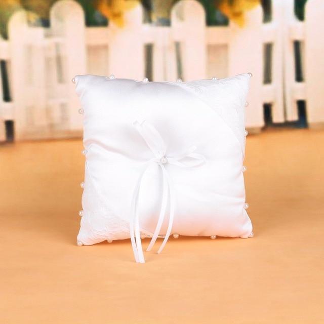Kristall Hochzeit Kissen Nadelkissen Ringe Partei Dekoration
