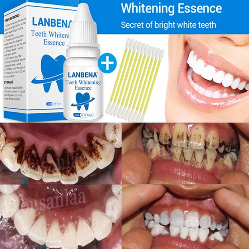 LANBENA Teeth Whitening Essence Powder Oral Hygiene Cleaning Serum Removes Plaque Stains Tooth Bleaching Dental Tools Toothpaste шприцы с гелем для отбеливания зубов
