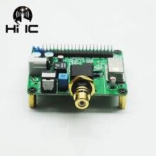 I2s coaxial alta fidelidade dac digi placa de som áudio digital wm8804g placa de expansão decodificação codificador para framboesa pi3 pi2 b + 3b 4b