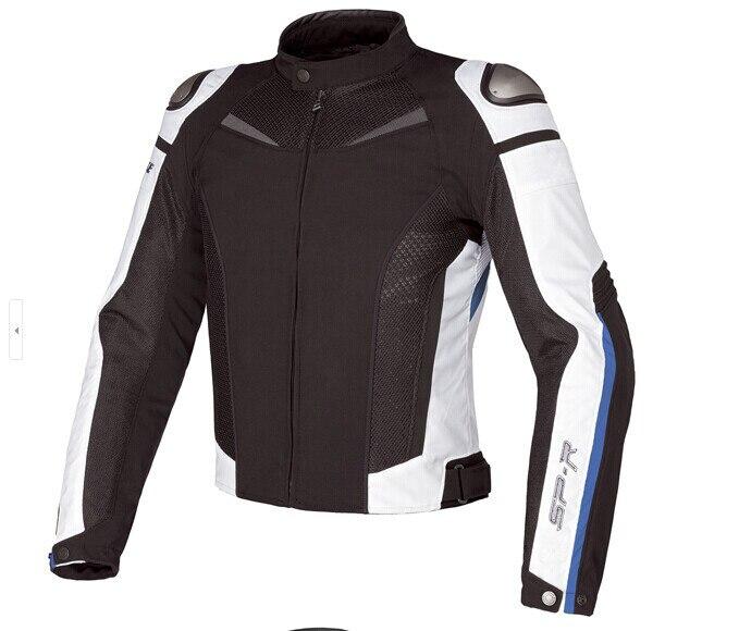 Livraison gratuite 2017 Dain titane Super vitesse Textile veste équitation maille tissu coupe-vent moto veste