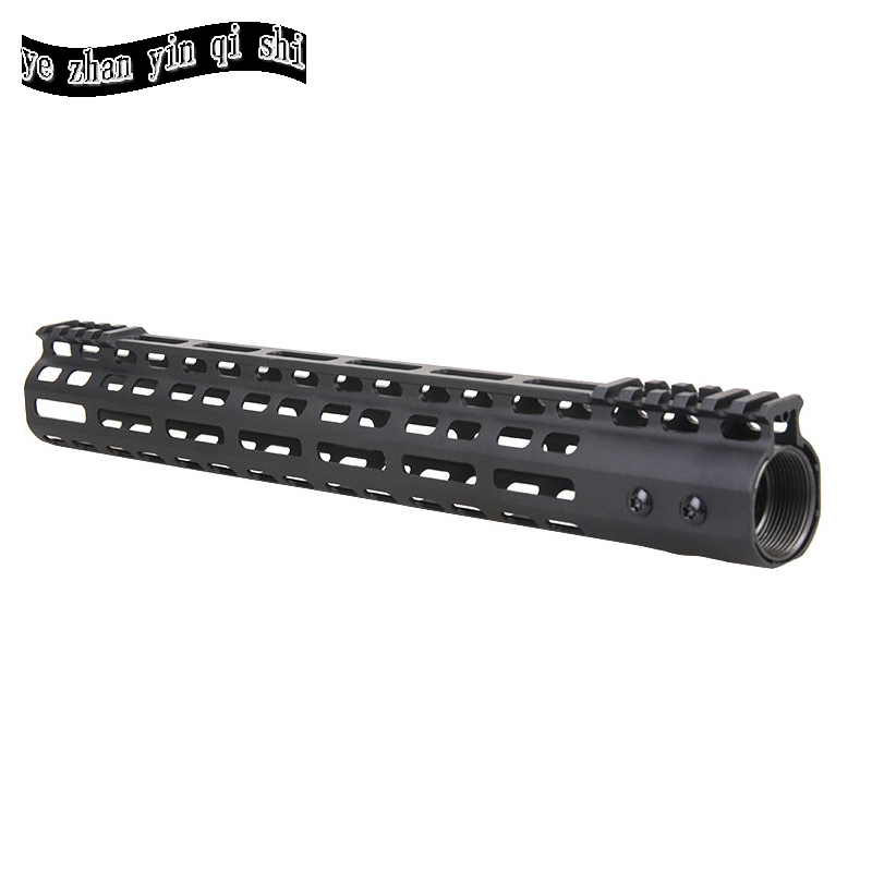 New Lightweight CNC M-LOK 13.5 inch handguard rail one Picatinny rails system BK harris m mower d new opportunities intermediate sts bk
