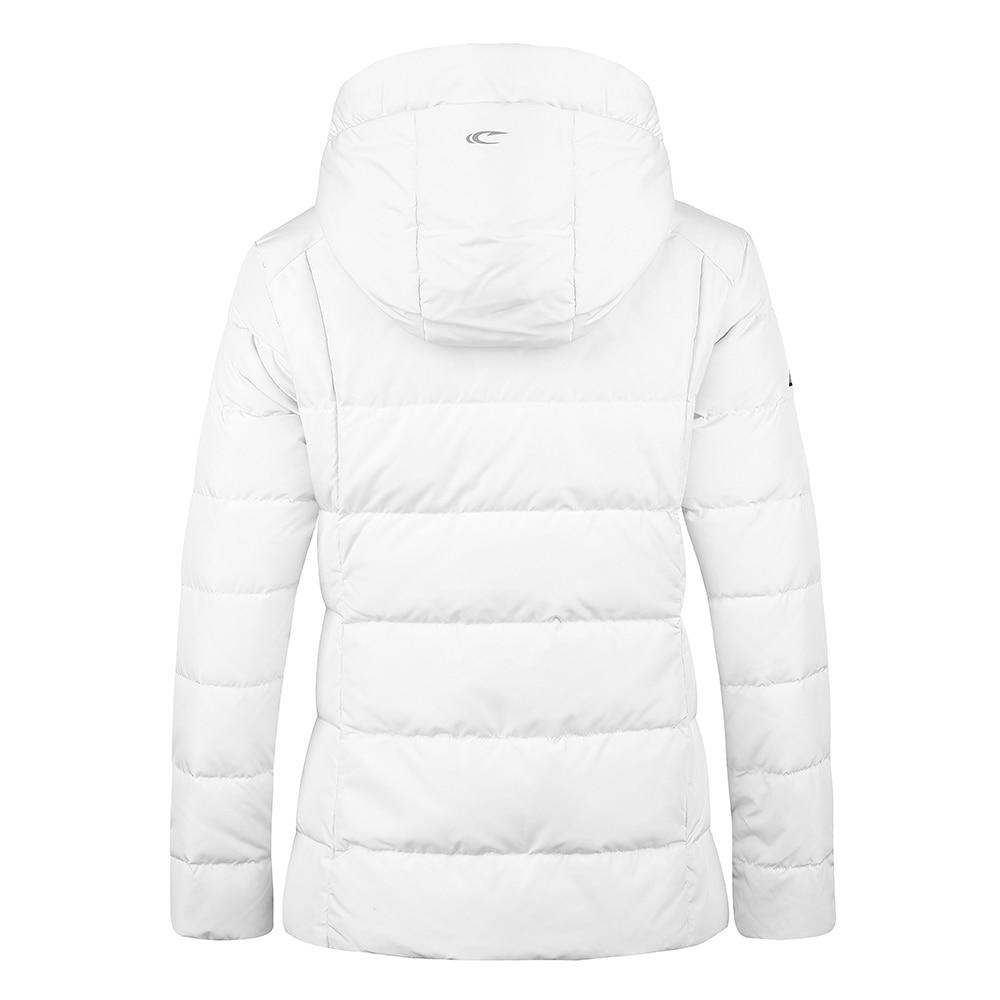 SAIQI 2018 Women Autumn Jacket New Warm Caping Hiking Jacket Coat 80% Grey Duck Female Down Jackets Winter Outwear Coat 256814