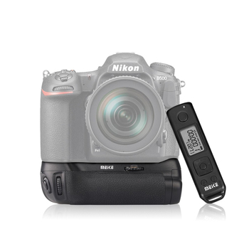 MEIKE D500 Pro Battery Grip Built-in 2.4GHZ FSK Remote Control Shooting for Nikon D500 Camera