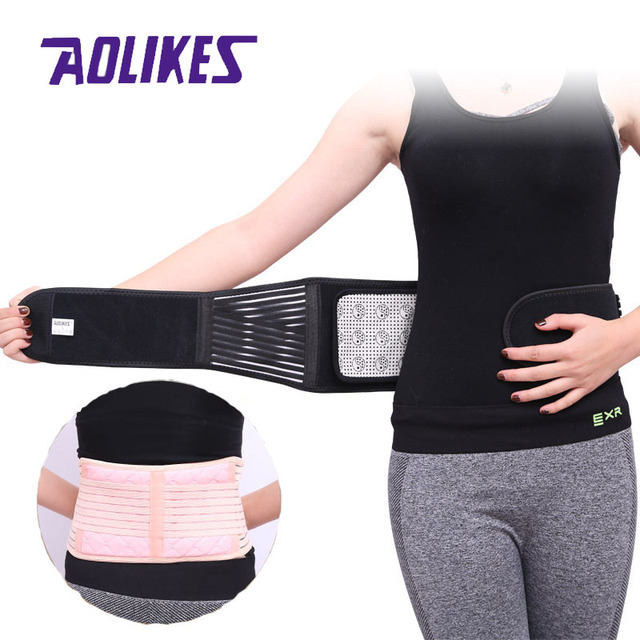 Tourmaline Products Self-heating Magnetic Waist Back Support Belt Lumbar Posture Corrector Abdomen Warm Protector