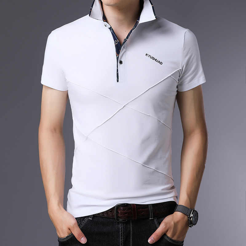 Design England Style 2019 Brand Fashion Polo Shirts Short Sleeve Men Summer Cotton Breathable Tops Tee ASIAN SIZE M-5XL