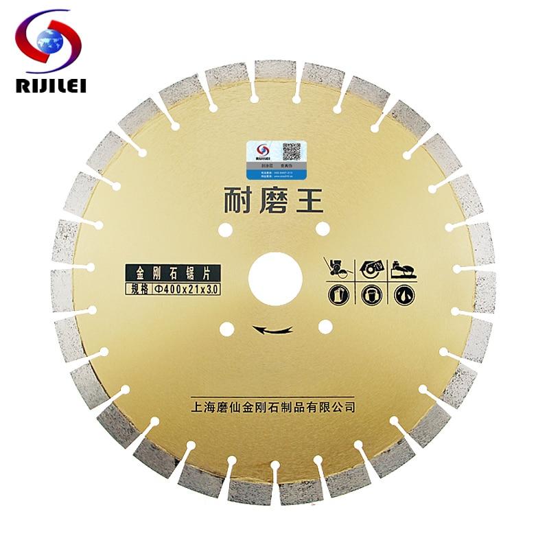 400mm Durable King Road Diamond cutting disc Concrete Asphalt pavement cutting Extra high teeth sheet marble Cutting disc MX31