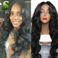 7A Cheap Brazilian Hair Wigs Lace Frontal Wig Human Hair Wigs For Black Women Body Wave Glueless Full Lace Wigs With Baby Hair