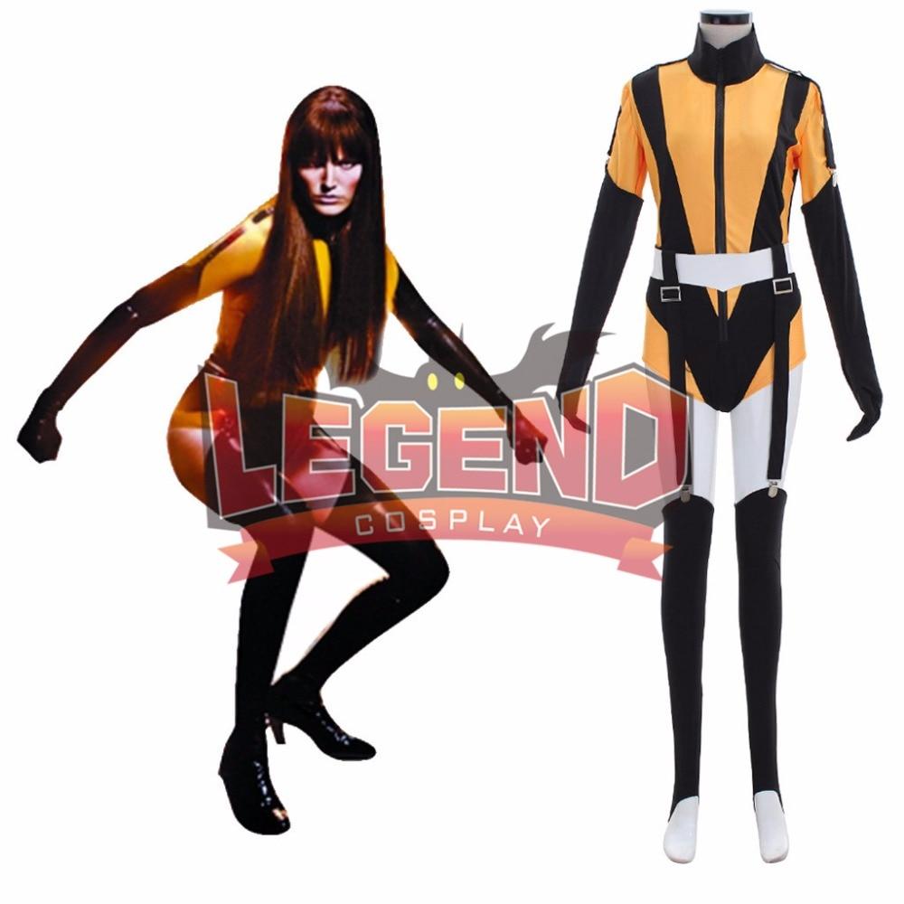 Watchman Watchmen Costume Laurie Juspeczyk The Silk Spectre Cosplay Costume