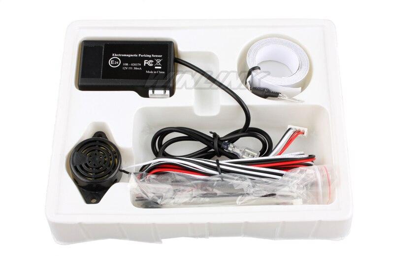 2015 elektromagnetische Parkplatz Sensor, keine bohrer Keine loch Auto Reverse Backup Radar Sensoren Parkplatz System + Große Antenne Kostenloser versand