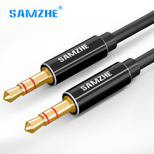 SAMZHE 3.5mm jack AUX Cable male to male Stereo Audio Cable 0.5m 1m 1.5m 2m 3m for car mobile phone laptop Headphone Speaker samzhe jack 3 5 mm aux audio cord car amplifier aux cable for music player phone headphone laptop map navigation