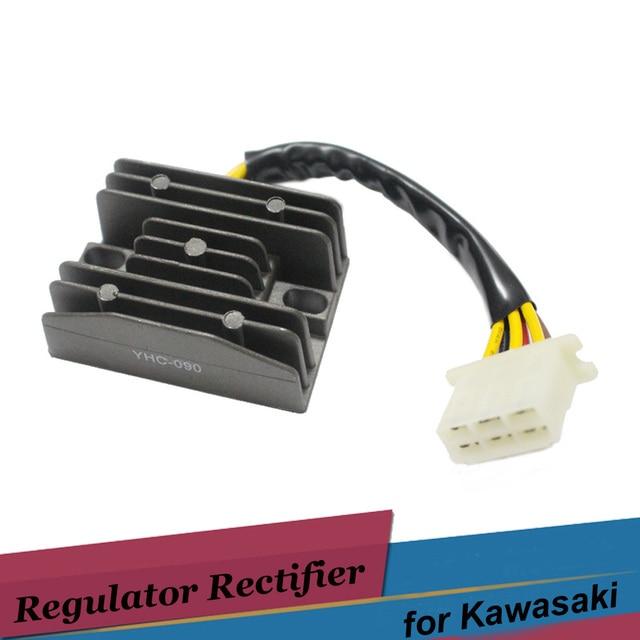 Motorcycle Voltage Regulator Rectifiers for kawasaki ZR400 ZZR250 GPX250R GPX250R Vulcan 400 500 EX250 EL250 EN400 EN500 KLE400