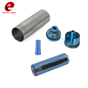 Image 2 - Element 5PCS Slient Bearing Cylinder/Piston Head/Nozzle /14/15 Teeth Pistol Set for M4/AK47 Series Airsoft AEG/GBB Hunting Parts