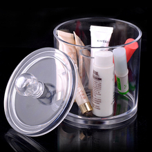 New Arrival Cosmetic Organizer Makeup Drawers Jewelry Display Box Acrylic Clear Cabinet Case No.296