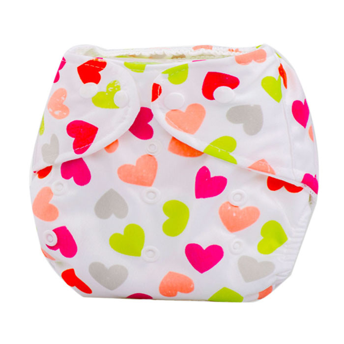 Cute Baby Diapers Newborn Reusable Nappies Cloth Diaper Washable Infants Children Baby Cotton Training Pants Nappy Changing стоимость