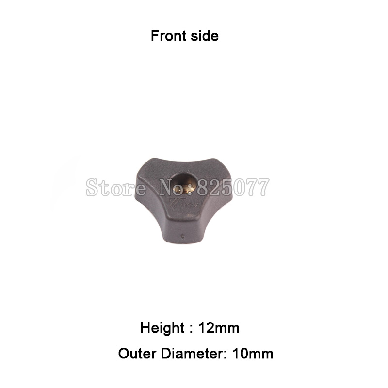 10 M6 Star Knob for different projects and woodworking jigs JF1163