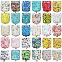 моющиеся многоразовые младенца ткань подгузники с милой различных моделей 40 шт./интернет лот продажа