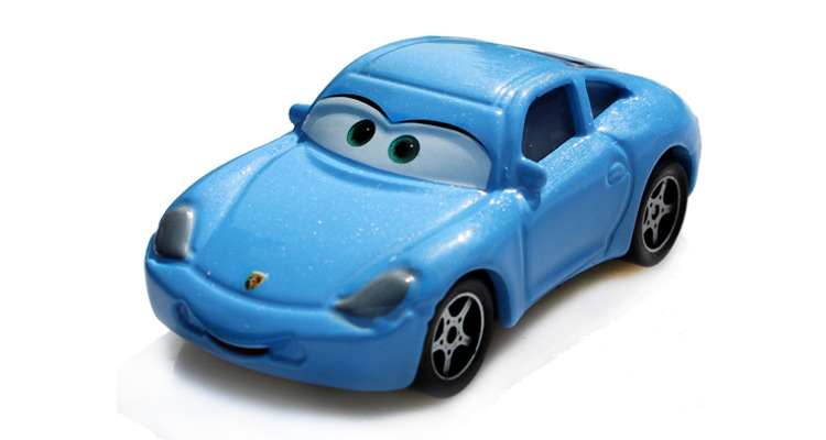 Pixar Cars Sally Metal Diecast Toy Car 1:55 cars pixar metal Cars Pixar Metal Carros 2 carros de kids toys carros pixar 1PCS pixar cars holly shiftwell metal diecast toy car 1 55 carros pixar cars 2 pixar metal original brio toys for children collection