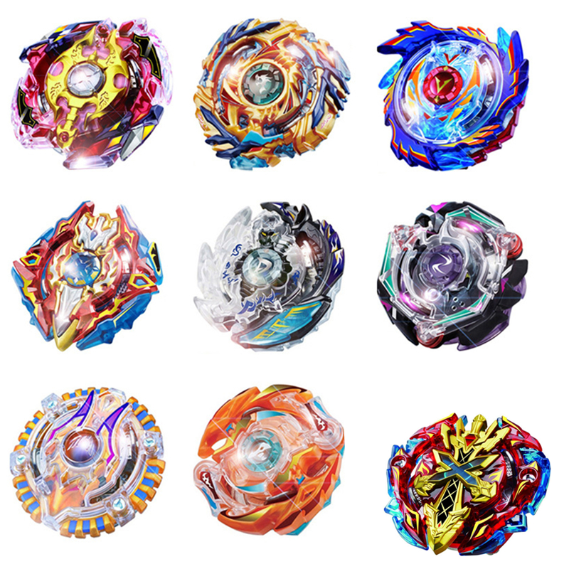 hot beyblade 10 style B 48/66/71/73/74/75/79/85/86/92/100 pegasus burst kids without Excalibur launcher bayblade spinner toys