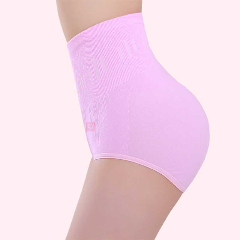 Женское Бесшовное Корректирующее белье с высокой талией для похудения, Женский корсет, нижнее белье, трусики, Корректирующее белье