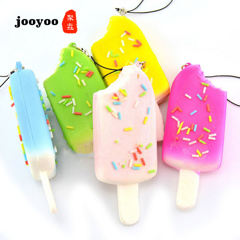1Pc Kids' Kitchen Toys 11CM Ice Cream Square Creamy Candy Color Similation Wedding Decor Photography Food Props Random Color