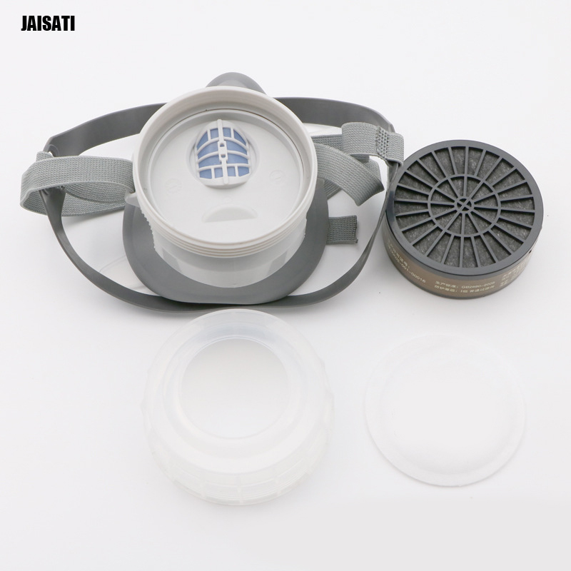 JAISATI Anti-dust toxic odor decoration protective mask anti-formaldehyde paint gas masks 50pcs high quality dust fog haze oversized breathing valve loop tape anti dust face surgical masks