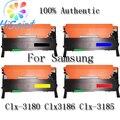 4pk CLT-K407s KCYM Toner Set cartucho para Samsung 407 Clx-3180 Clx-3185 Clx3186 [ região quente rússia eua ]