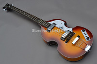 HOT selling!new arrived customised OEM 4 string bass+free shipping