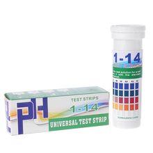 150 Strips Bottled PH 1-14 Test Strip Urine Saliva pH Acidic Alkaline Indicator liming acidic soils