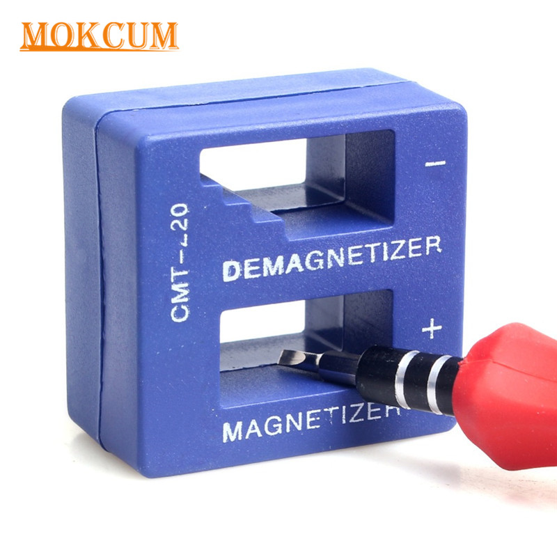Magnetizer Demagnetizer Tool for Screwdriver Bench Tips Bits Gadget Handy Magnetized Driver Quick Magnetic Degaussing Household free shipping magnetize for screwdriver plus porcelain degaussing degaussing minus porcelain disassemble charge sheet page 8