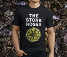 Tops Men'S The Stone Roses Lemon Alternative Punk Retro Premium Crew Neck Short Sleeve Tee Shirts цены