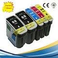 5 Pacote Compatível 88 XL Cartucho de Tinta Para HP 88XL HP88 HP 88XL Officejet Pro K5300 K550 K550dtn K5456dn L7400 L7480 L7580 L7700