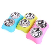 Buy  ies Stainless Steel Pet Bowl free shipping  online