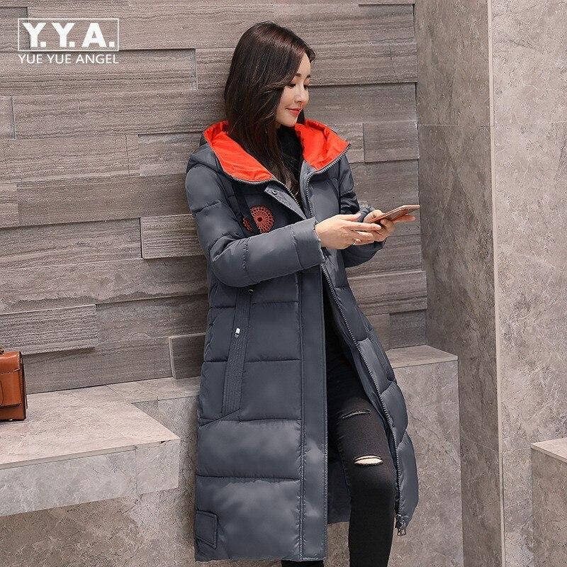 Boyfriend Oversize Womens Winter Jacket Casual Loose Fit Coat Female Hooded Warm Outwear Coat Down Jacket Long Large Size L-5XL