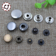 New high quality 30sets/lot Metal brass Press Studs Sewing Button Snap Fasteners Sewing Leather Craft Clothes Bags 831/633/655(China)