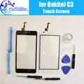 Oukitel C3 Tela de Toque Digitador Garantia 100% Original Painel de Digitador de Vidro Toque Substituição Para Oukitel C3 + Ferramentas