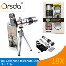 Best Buy Orsda HD18x Zoom Telephoto Telescope Phones Lens With Mobile Phone Universal Clips Tripod For iPhone SE 6S 7 8 X Lentes lenses