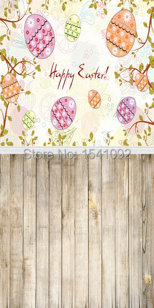 1.5X3M Customize vinyl photography backdrop newborn easter wood computer print  background for photo studio F034 3x3m customize vinyl photography backdrop star flag wood computer print background for photo studio l483