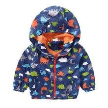 41b91ac16aec5 Printemps garçon vestes bébé garçons manteaux pour vêtements de dessus  dinosaure à capuche veste pour garçons enfants manteau à .