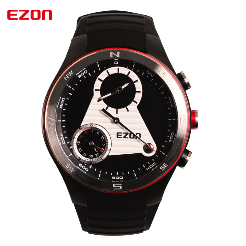 Ezon Quartz Watch Mens Watches Top Brand Luxury Wrist Watch Military Sport Watch Reloj Hombre W/ Altimeter Compass Montre Homme luxury mens quartz wrist watch date gunmetal watches round case watch hot sale watches relogio reloj hombre montre clock saat
