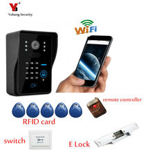 Yobang Security Video intercom wifi video door phone remote controlled wifi intercom IOS Android available wifi doorbell