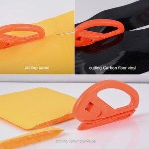 Image 2 - FOSHIO инструмент для обертывания автомобиля из углеродного волокна виниловая обертка скребок для скребка фольгированная пленка наклейка резак перчатки оконный оттенок инструмент для очистки автомобиля