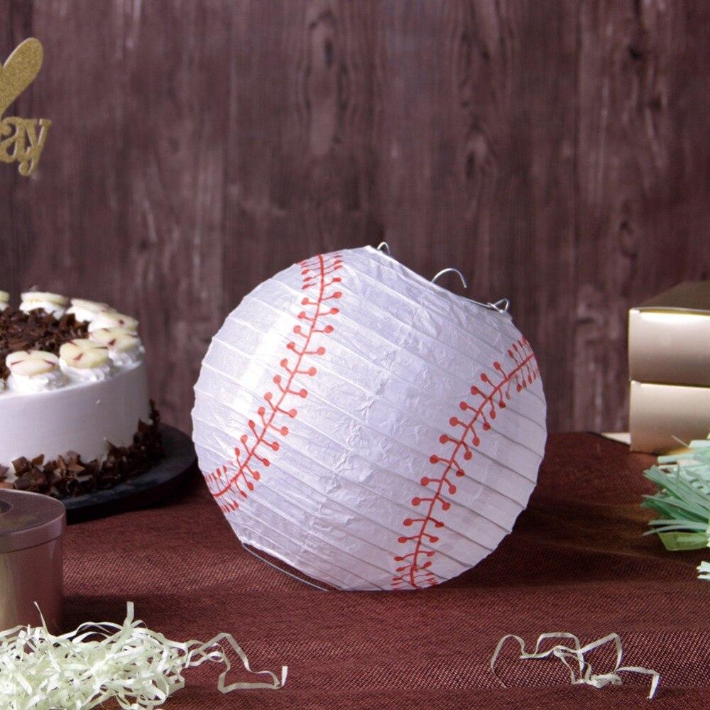 1pc 20cm Baseball Birthday Party Ideas Decor Sport Themed Party