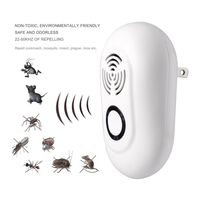 NEW AC 90V 250V Ultrasonic Pest Reject Electrical Mosquito Repeller Indoor Cockroach Trap Mosquito Killer Pest