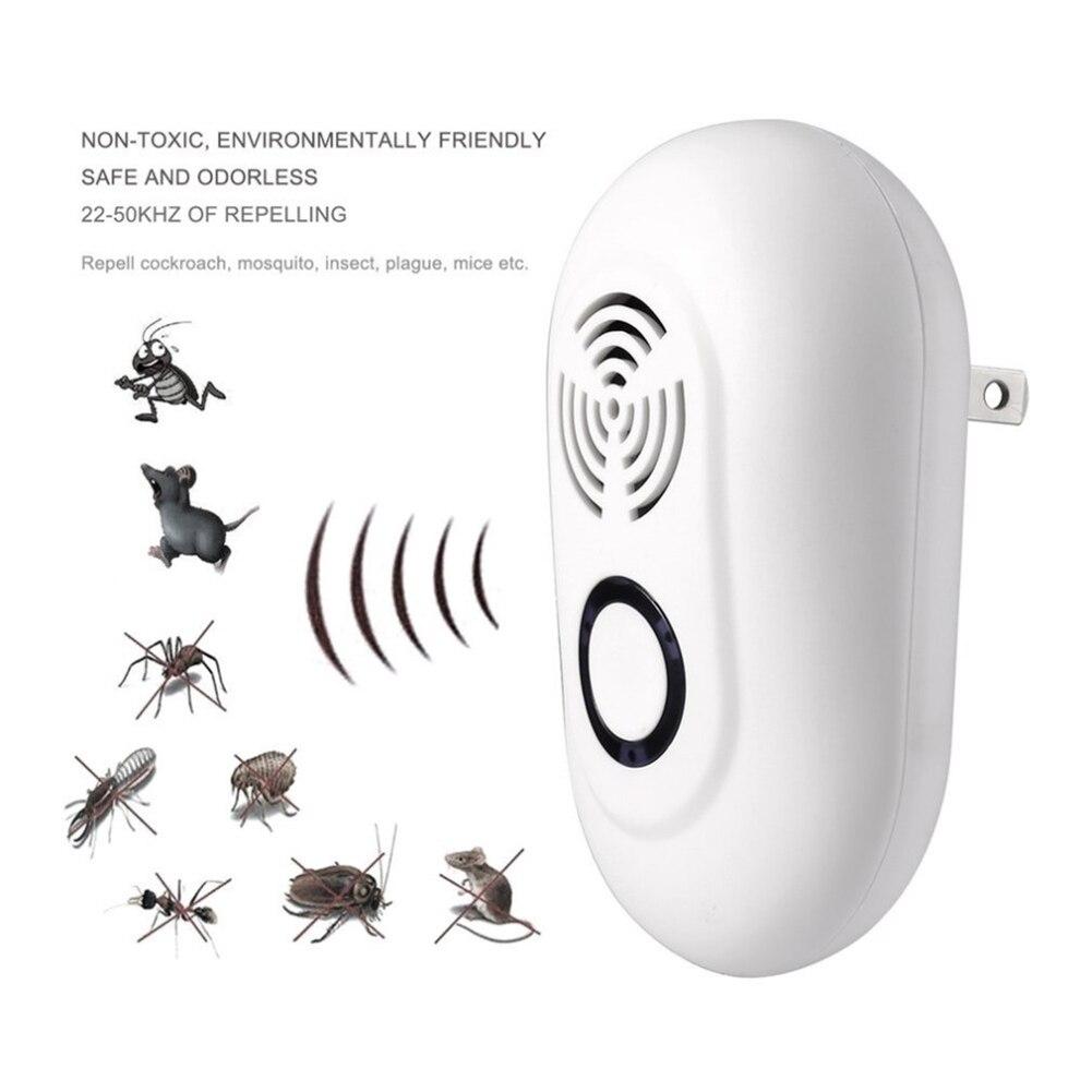 Новый AC 90 В-250 В ультразвуковой вредителями отклонить электрические отпугиватель комаров Крытый таракан ловушку комаров убийца Борьба с вредителями