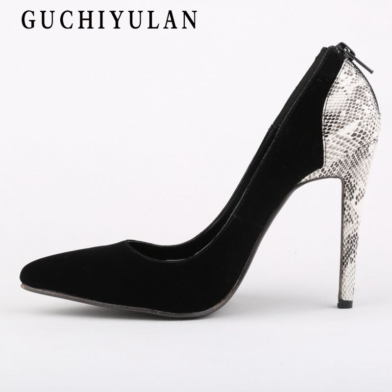 Women High Heels silver 2018 New Summer Fashion Sexy Female Leather Party Sandals Platform Pointed High-heeled Shoes Woman Pumps brand new qitong pu 13cm woman thin ultra heels platform lady sandals nightclub t walk woman shoes high heeled sexy party shoes