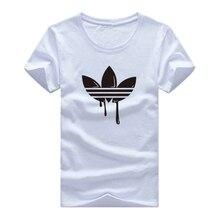 купить New Summer Cotton Funny T Shirts Short sleeves T-shirt Men Fashion Tide brand Print Red T shirt Men Tops Tees Men's T-shirt по цене 274.2 рублей