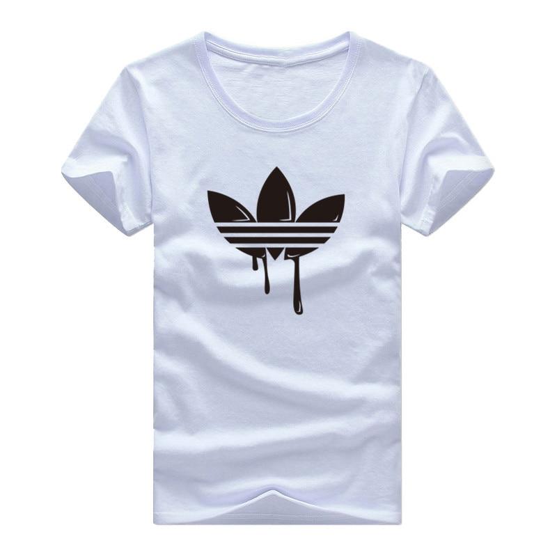 New Summer Cotton Funny   T     Shirts   Short sleeves   T  -  shirt   Men Fashion Tide brand Print Red   T     shirt   Men Tops Tees Men's   T  -  shirt