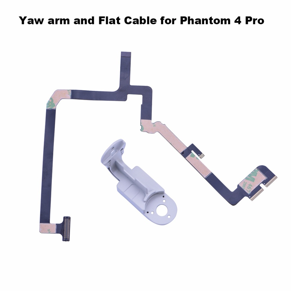 small resolution of ribbon flat cable flex flexible wire yaw arm bracket for dji phantom 4 pro advanced drone gimbal camera repairing spare parts